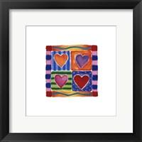 Framed Heart Collection I