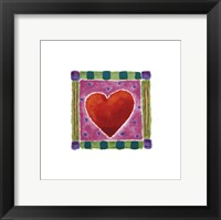 Framed Heart Collection III