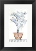 Framed Palm Topiary I