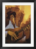 Framed El Guitarrista
