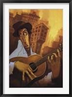 Framed El Guitarrista