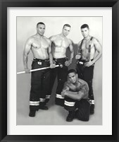 Framed Latino Firefighters