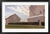 Framed Spring House Hill