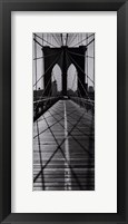 Framed Across the Brooklyn Bridge