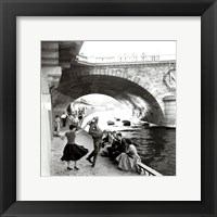 Framed Rock n Roll sur les Quais de Paris