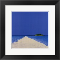 Framed Island in the Sun II
