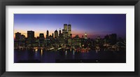 Framed New York Skyline