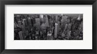 Looking Up Fifth Avenue Framed Print