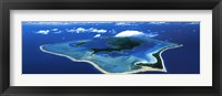 Framed Bora Bora, French Polynesia, South Pacific
