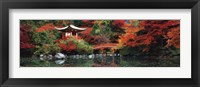 Framed Daigo Shrine, Kyoto, Japan