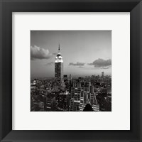 Framed Empire State Building New York