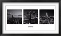 Framed Views of New York I
