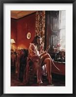 Framed Femme avec Miroir