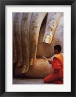 Framed Hand of Buddha