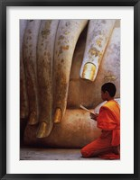 Framed Hand of Buddha