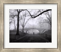 Framed Gothic Bridge, Central Park, NYC