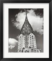 Framed Top of Chrysler Building