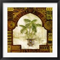 Framed Tropical Palm I