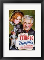 Framed Dimples Frank Morgan