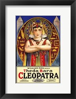 Framed Cleopatra The da Bara