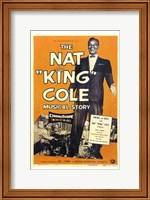 Framed Nat King Cole Musical Story