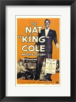 Framed Nat King Cole Musical Story