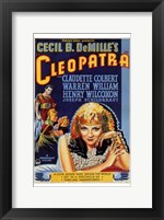 Framed Cleopatra Cecil B. DeMille