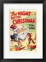 Framed Night Before Christmas
