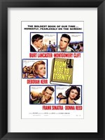 Framed from Here to Eternity - characters
