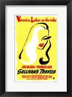 Framed Sullivan's Travels