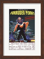 Framed Forbidden Planet - style A