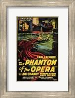 Framed Phantom of the Opera Carl Kaemmle
