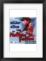 Framed Maltese Falcon Mary Astor Humphrey Bogart