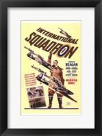 Framed International Squadron