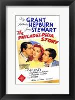 Framed Philadelphia Story - Katherine Hepburn