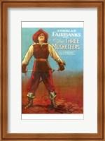 Framed Three Musketeers - Man standing