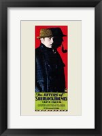 Framed Return of Sherlock Holmes