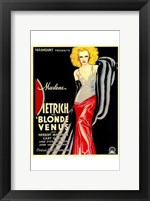 Framed Blonde Venus - woman posed