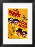 Framed Duck Soup