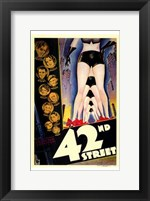Framed 42Nd Street