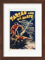 Framed Tarzan and His Mate, c.1934 - style A