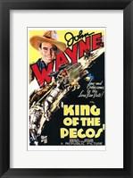 Framed King of the Pecos