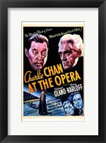 Framed Charlie Chan At the Opera Oland And Karloff