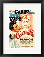 Framed Camille Greta Garbo Loves Robert Taylor