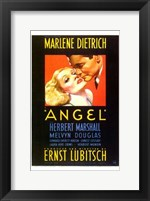 Framed Angel Marlene Dietrich - couple