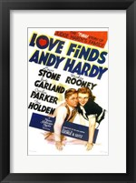Framed Love Finds Andy Hardy