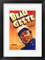 Framed Beau Geste