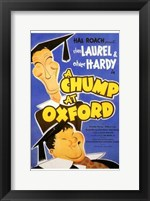 Framed Chump At Oxford  a