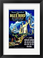 Framed Blue Bird