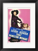 Framed That Hamilton Woman Vivien Leigh